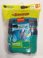 Hanes Boys 7 Pack Tagless Boxer Briefs W/Wicking Cool Comfort Size XLarge (4794)
