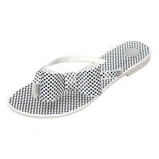 Melissa Harmonic Bow White Flip Flops -UK 3