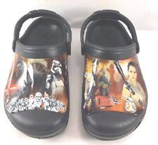 Crocs Black Star wars Theme Episode VII Clogs Kids US 1M