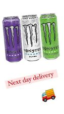 Monster Energy Drink  Mixed Case 12 (Ultra Zero , Ultra Violet , Ultra Paradise)