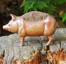 Gorgeous Antique Miniature Pig Pen Wipe Brush
