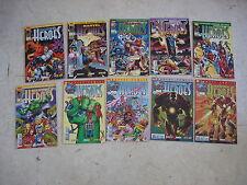 MARVEL HEROES n° 11 à 20- Lot de 10 COMICS