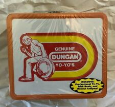 VINTAGE Duncan YoYo Lunchbox - With YoYo! 1970's style, 2003 production