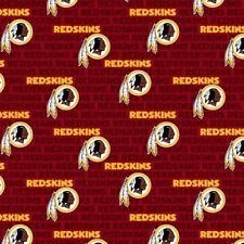 Washington Football Team / Redskins Cotton Fabric - Sold By The 1/2 Yard - NFL