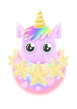 Light switch sticker skin cover decorative pink rainbow unicorn star heart vinyl