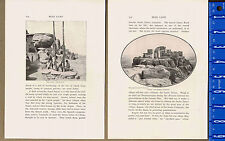 Walpi Acropolis & Dance Rock, Arizona, Scenes Moki Land-1901 Historical  Prints