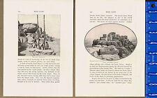 Walpi Acropolis & Dance Rock, Arizona, Scenes Moki Land-1901 Historical  Prints