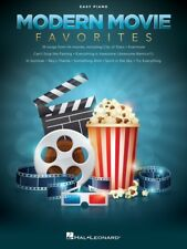 MODERN MOVIE FAVORITES - Easy Piano Book *NEW*