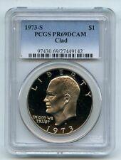 1973 S $1 Ike Eisenhower Dollar Proof PCGS PR69DCAM