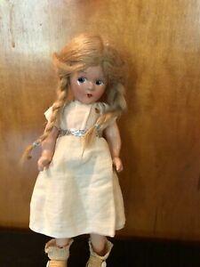 """Vintage Wendy Ann Madame Alexander Doll 9"""""""