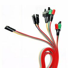 PC Power Reset Switch HDD LED Cable Light Wire Kit Assembly for Computer