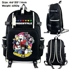Anime Game Undertale Toriel Sans Backpack laptop Bag satchel travel School bags