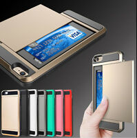 Hard Back ShockProof Slim Hybrid Phone Case Cover iPhone 5 5s 6 6 Plus Protector