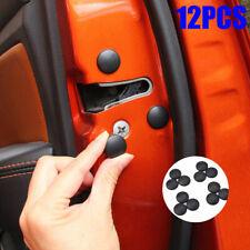 12pcs Car Interior Door Lock Screw Protector Cover Anti-Rust Cap Trim Stickers