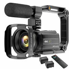 Video Camera Camcorder 4K 48MP YouTube Camera WiFi Digital Camera Vlogging Camer