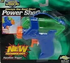 Buzz Bee Toys Water Warriors Blue/Green Power Shot Equalizer Trigger.