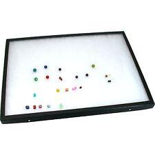 "Display Case 12"" x 16"" Glass Top Jewelry Coin Gemstone"