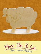 Schaf Bauernhaf Holz Tischschmuck Basteln Malen Deko