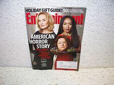 Entertainment Weekly Magazine November 29 2013 EW American Horror Story