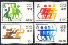 Hong Kong 1982 Disabled Sports/Basketball/Archery/Table Tennis 4v set (n40258)