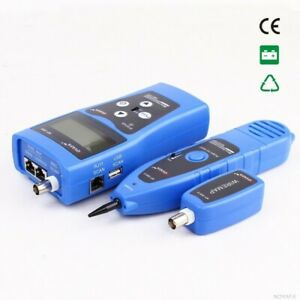 LCD Network Cable Wire Fault Locator Detector Tester Finder LAN USB Coacial BNC