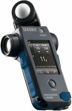Sekonic exposure meter speed master L-858D Tracking number NEW