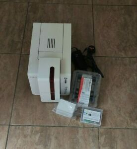 Evolis Primacy Expert Single Sided Colour ID Card Printer Software and Ribbon
