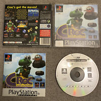 Croc Legend of the Gobbos PS1 PS2 PS3 Playstation 1 Complete UK PAL Black Label