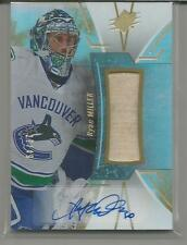 2016-17 SPX Card #45 Ryan Miller Stick / Auto 27/45 Vancouver Canucks