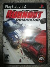 Burnout Dominator (Sony PlayStation 2, 2007) Ps2 w/ Case