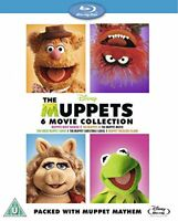 The Muppets Bumper 6 Movie Collection [Blu-ray] [Region Free] [DVD][Region 2]