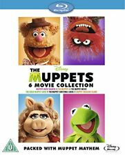 The Muppets Bumper 6 Movie Collection Blu-ray Region DVD 87174184368