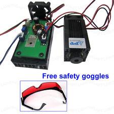 445nm 450nm 2000mW 2W Blue Laser Module TTL CNC Cutter Engraving Free goggles