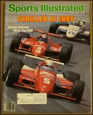 6/3/1985 Sports Illustrated Danny Sullivan Indianapolis 500 Gretzky Dale Murphy