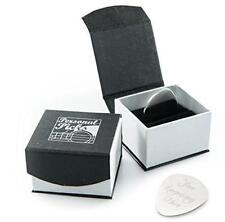 ARGENTO personalizzato CHITARRA PLECTRUM / PICK CON LUSSO MAGNETICO scatola di presentazione