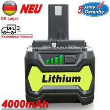 18V für Ryobi RB18L25 Akku 4,0Ah P108 One+ plus Lithium P104 RB18L40 P107 P780