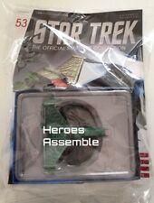 ASTRONAVE STAR TREK COLLEZIONE # 53 Klingon ATTACCO nave Eaglemoss (51, 52)