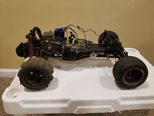 Traxxas Nitro Rustler Truck w/ 2.5r Nitro Engine - Parts/ Repair Lot