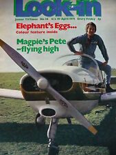 LOOK-IN MAGAZINE 10TH APRIL 1971 - MAGPIE - BENNY HILL