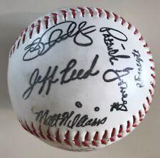 1995 San Francisco Giants baseball team stamped autograph ball MLB Barry Bonds