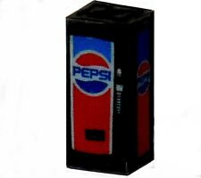 N Scale Lighted Old Style Pepsi Vending Machine 1/160 Illuminated