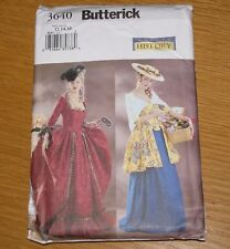 Butterick Pattern 3640 Historical Marie Antoinette My Fair Lady Sizes 12,14,16