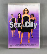 SEX AND THE CITY: SEASON 1 (DVD, 2002, 2-DISC-SET) LIKE NEW EXCELLENT CONDITION