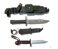 Army Fighting Knife Lot (2) Tactical Survival Knives with Very Nice Sheaths