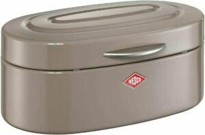 Wesco Single Elly Bread Bin, Steel, 32 x 19.4 x 14 cm - Warm Grey - New