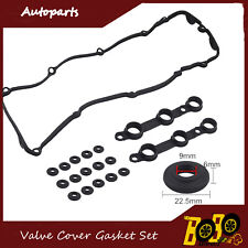 Fits BMW 328I Valve Cover Gasket Kits E39 E46 E53 323I 330I 325I 528I 525I X5 US