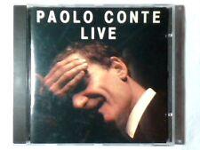 PAOLO CONTE Live cd PRIMA EDIZIONE NO CODICE A BARRE ANTONIO MARANGOLO