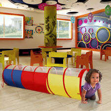 WolfWise Play Tent Tunnel Pop-up Children Kids Baby Adventure Discovery Toy Tube