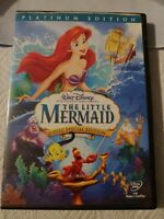 The Little Mermaid (DVD 2006, 2-Disc Set, Platinum Edition) Disc Only U.S. Issue