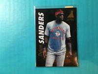 DEION SANDERS 1991 ZENITH CARD #26 REDS